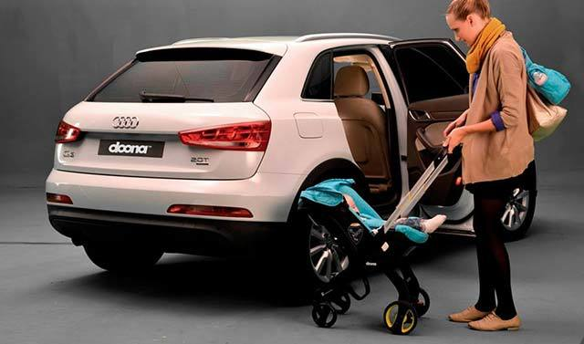 既是婴儿车也是安全椅,带baby出门不再麻烦-Doona