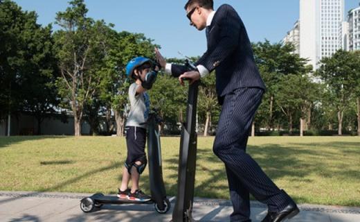 Immotor GO便攜式滑板車,充電就和換電池一樣方便