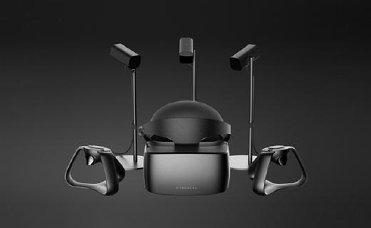HYPEREAL三摄像头定位VR,打游戏看视屏360°无死角