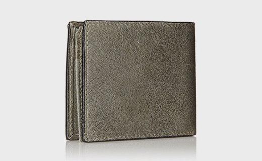 添柏岚男士钱夹:柔软革质手感出色,两折设计更实用