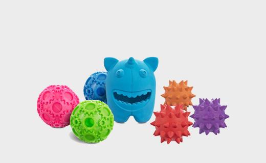 Leaps&Bounds喂食狗玩具:婴儿级材质更安全,帮助磨牙训练