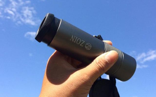 """让手机秒变单反的""""小粗管?#20445;琙OIN魔眼金属单筒望远镜体验"""