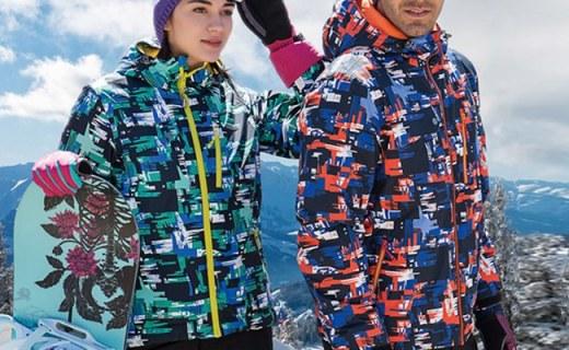SCALER情侣款滑雪服:3M高效暖绒填充,防水防风亮眼时尚