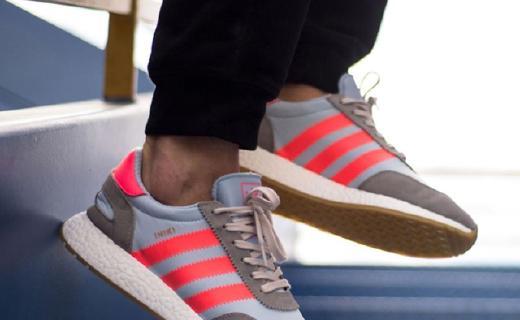 阿迪达斯INIKI BOOST休闲鞋:麂皮鞋面柔软舒适,boost鞋底减震出色