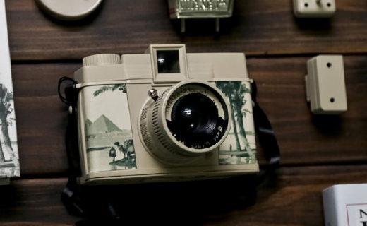 乐魔Diana F胶片照相机:撒哈拉沙漠限量版,怀旧拍摄多模式
