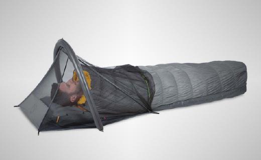 睡袋专用充气蚊帐,让你野营不再怕蚊虫叮咬