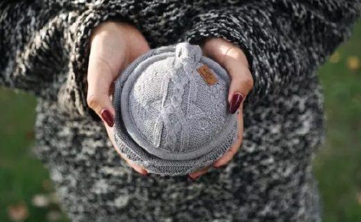 世界上最暖和的高保真无线耳机,可折叠耳暖设计