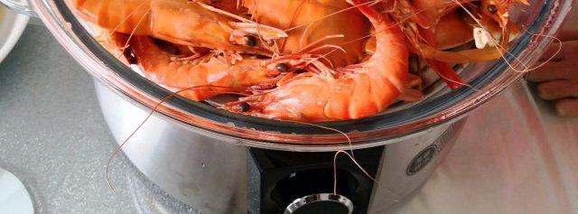 舌尖上的海鲜家餐,拓璞蒸汽料理机开锅