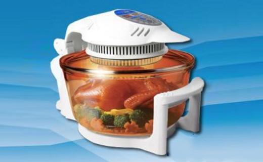 德国宝CKY-688F空气炸锅:玻璃锅体烹饪可见,三重加热无油健康