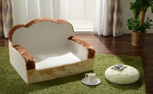 吐司沙发、煎蛋毯子,让人想一口吃掉它们