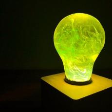 科学与美学的碰撞,这灯泡让你看到时间在流动 — E.P.Light 美学灯体验 | 视频