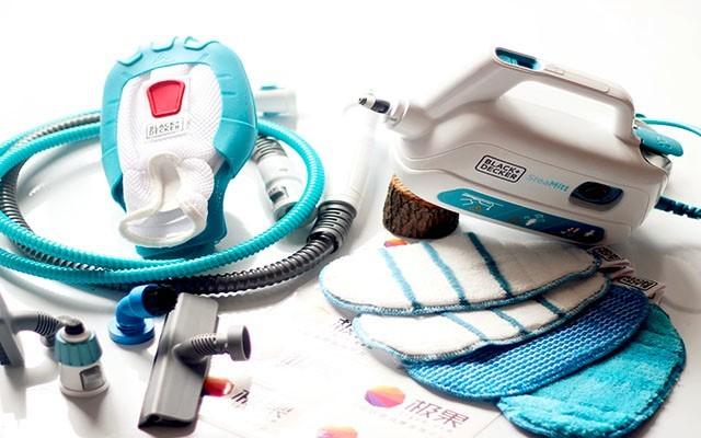 高温蒸汽消毒去污渍,让你清洁不再用消毒液 — 美国百得蒸汽手套体验 | 视频