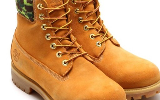 添柏岚户外防水靴:atmos联名款,工装品质,迷彩设计