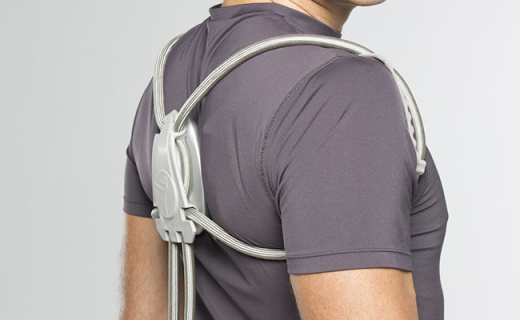 """美帝版""""背背佳"""",两根背带就能矫正坐姿还透气"""