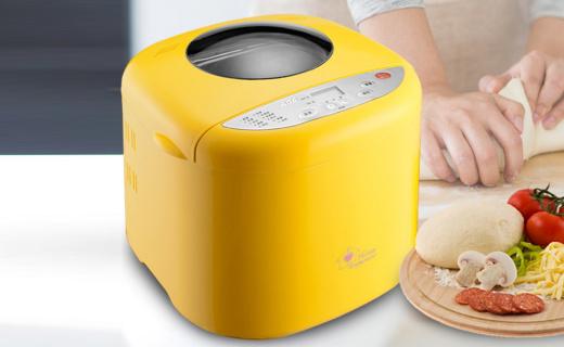 北美电器MB500面包机:全自动面包制作,多功能菜单实用便利