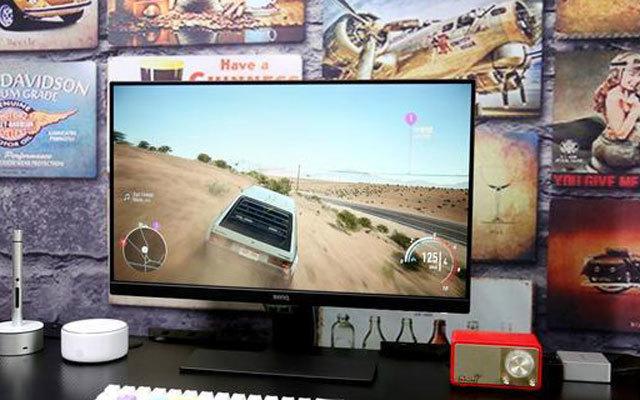 明基GW2480显示器测评,千元定位很亲民,智慧调光护眼睛