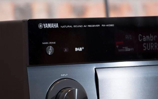 Yamaha RX-A1080体验更加优秀的环绕立体声效果