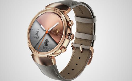 华硕首款圆形手表,运动检测精度达95%
