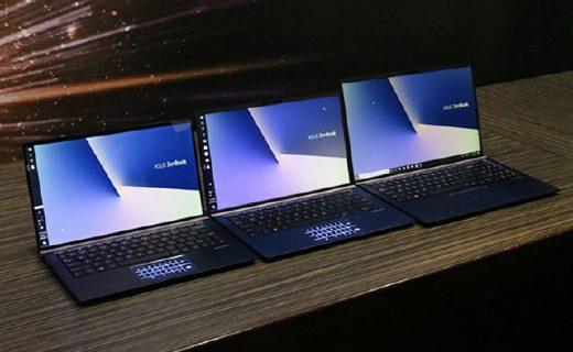 华硕发布2018款ZenBook:超窄边框+16小时续航