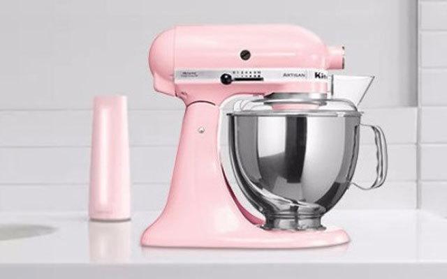 颜值高超,满满烘焙仪式感  —  粉红KitchenAid 150PS厨师机测评