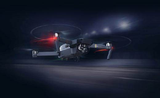 大疆首款折叠无人机,7km图传,自动避障!