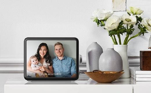 Loop多功能电子相框,超高颜值还能视频聊天