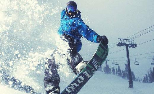 迪卡儂男士單人滑雪板:炫酷穩定,任何地形的雪場都適用
