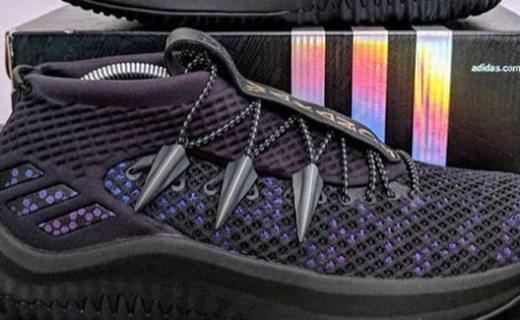 """adidas Dame 4 """"Black Panther"""":黑豹来袭!"""