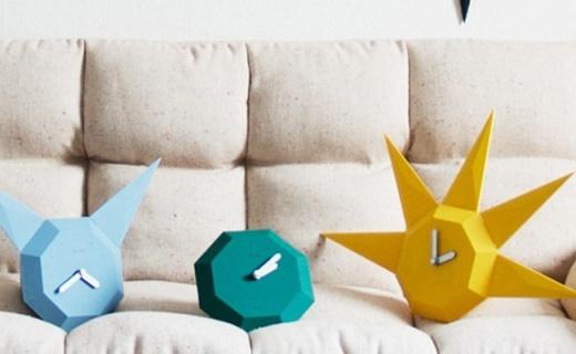 BOZU两用宝石钟:全身无螺丝设计,百变造型任你打造