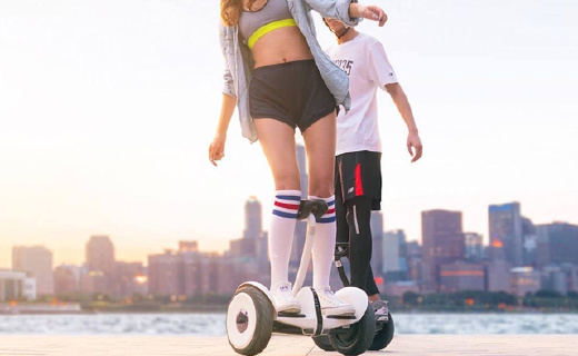 平衡车鼻祖Segway最新miniPRO,充气轮胎防滑减震超舒适