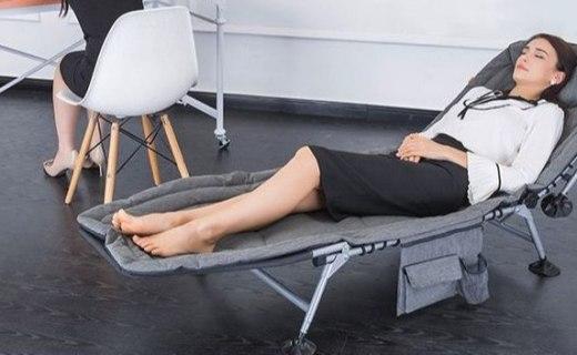 泰普森可调节折叠床:五档可调节靠背,享受惬意的午休时刻