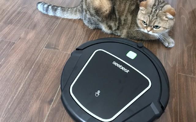 能遛猫的智能扫地机,操作简单清洁超高效 | 视频
