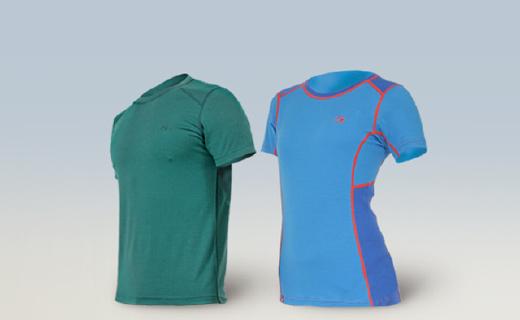 这款羊毛跑步T恤柔软保暖,还能快速排汗!