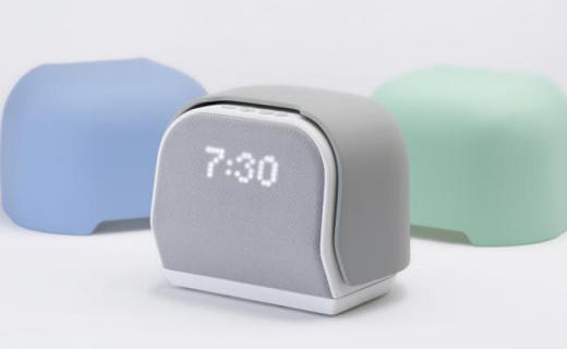 能培养睡眠习惯的闹钟,还可以控制智能家居