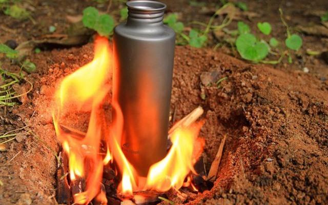 能燒水運動水杯,鈦金屬材質戶外飲水更放心 — 火楓戶外鈦水杯體驗