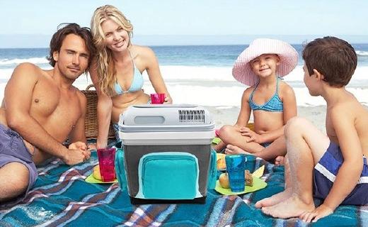 美固S25车载冷热箱:24L大容量,保冷保暖一年四季都能用