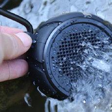 扔水里也能继续放歌的音箱,朗琴V350蓝牙音箱测评