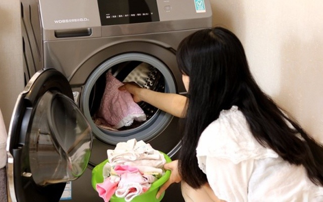 云米洗烘一体洗衣机体验,媳妇再也不抱怨衣服难洗