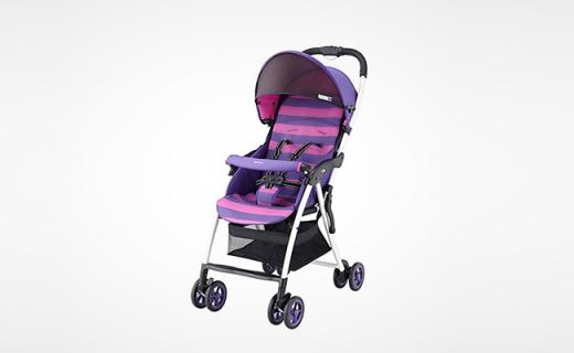 Aprica婴儿推车:单手收放轻松自如,带娃出行无负担