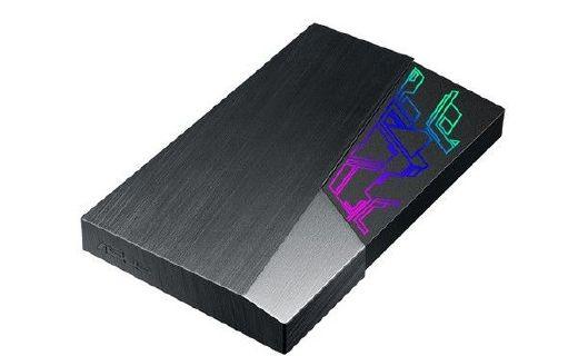 华硕电竞移动硬盘:RGB幻彩灯光,490元起