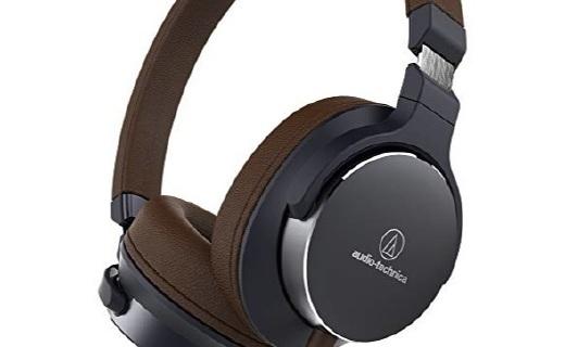 铁三角ATH-SR5BTBK头戴耳机:大单元驱动卓越音质,双层耳垫久听不累
