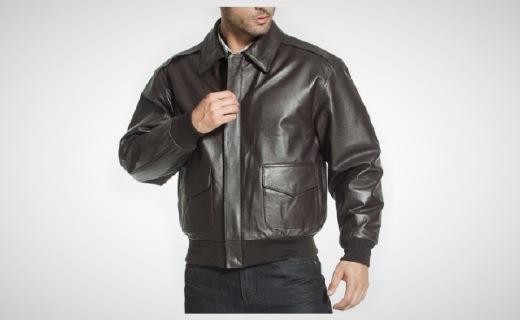 Luxury Lane夹克:优质皮料透气保暖,空军服经典潮流