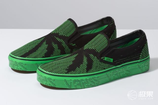 鞋子也玩黑客帝国?Vans全新鞋款发布,灵感来自程序员!