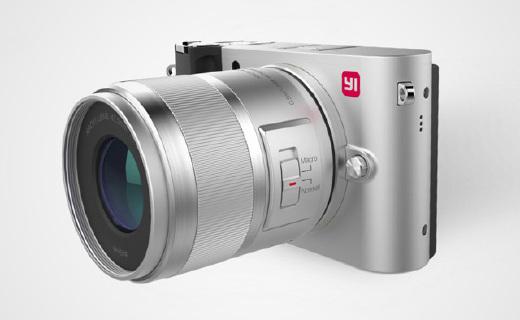 小蚁M1微单相机,外形酷似徕卡,只卖2199元