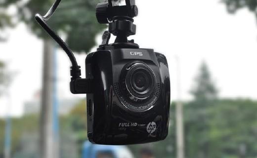 惠普F515行车记录仪:高清传感器夜间依旧清晰,大广角视野广阔