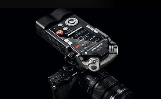 奥林巴斯LS100录音笔:8音轨录制编辑,多场景录音模式