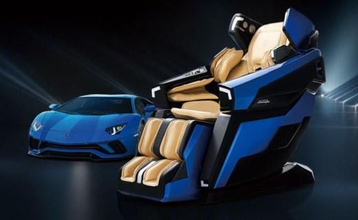 兰博基尼联名按摩椅!外形酷炫活儿也全,还有跑车模式?