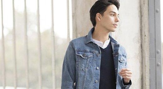 优衣库牛仔夹克:弹力牛仔面料亲肤舒适,经典版型休闲简约