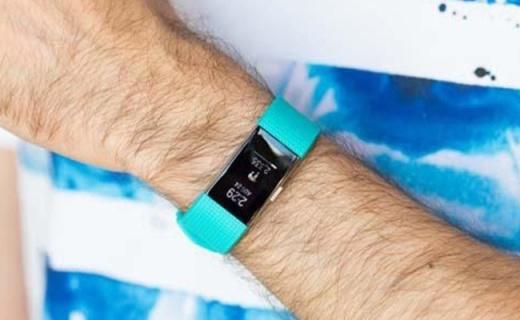 Fitbit Charge 2运动手环:心率实时监测,睡眠记录,可来电显示