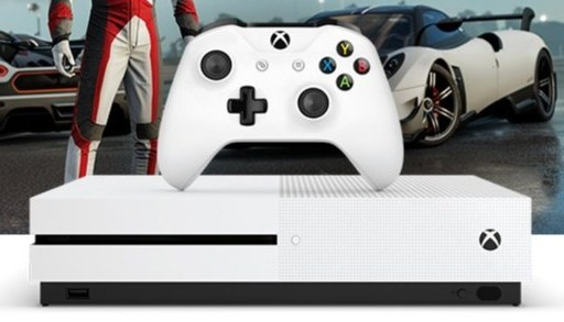 微软Xbox One S 1TB游戏机:4K原生分辨率,纤毫毕现劲畅游戏